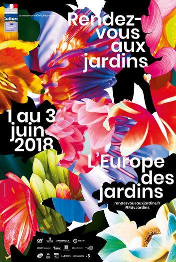 Rendez-vous aux jardins - 2 et 3 juin 2018