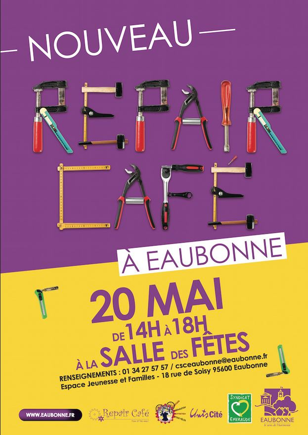 REPAIR CAFE à EAUBONNE