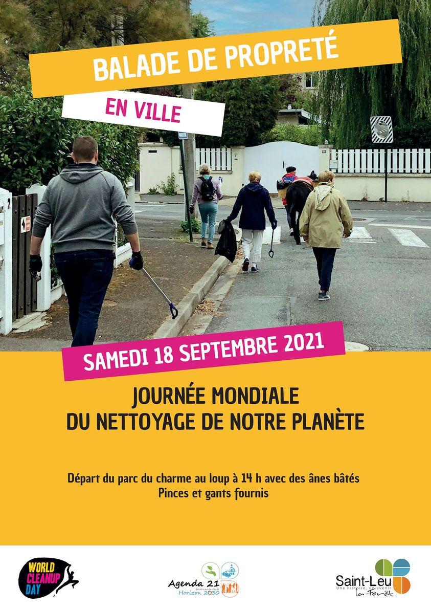 World Clean Up Saint-Leu-la-Forêt