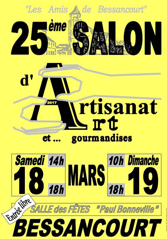 25e salon de l 39 artisanat d 39 art et gourmandises for Salon artisanat d art