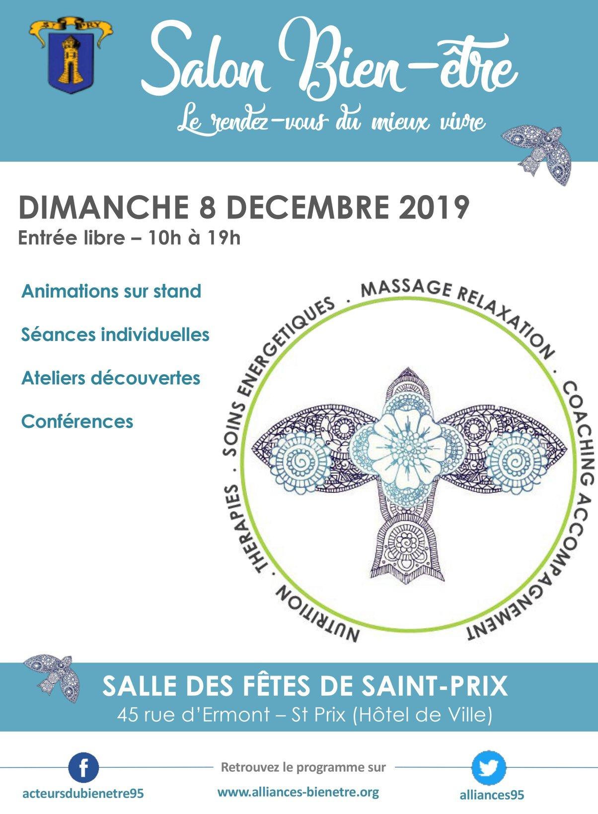 Salonb du bien-être Saint-prix decembre 2019