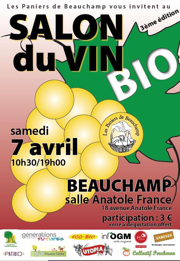 Salon du vin bio beauchamp for Salon du vin nice