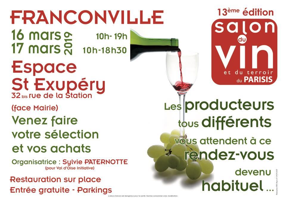 Salon du vin franconville 16 et 17 mars 2019