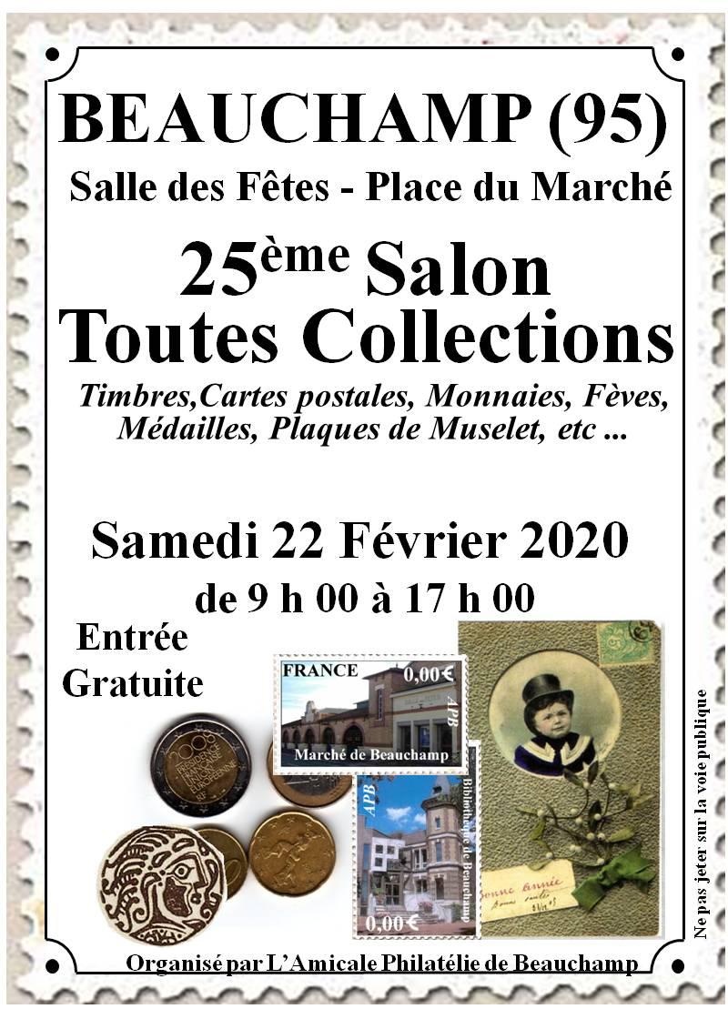 25ème Salon toutes collections de Beauchamp
