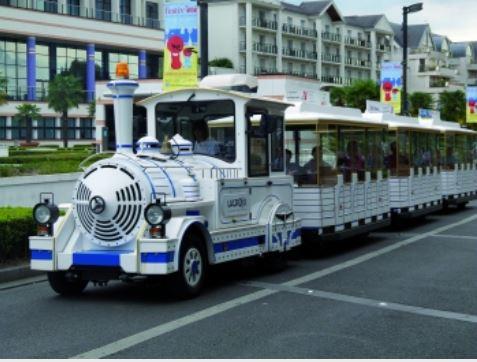 Train toutistique à Enghien-les-Bains