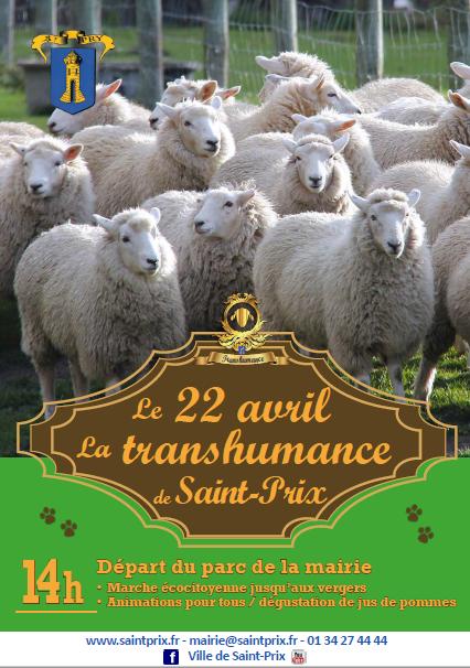 TRANSHUMANCE DE SAINT-PRIX 2017