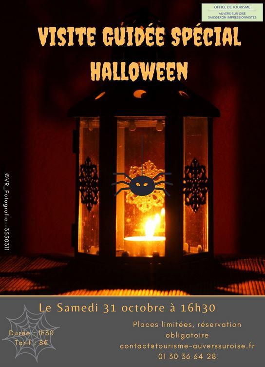 Visite guidé spécial Halloween à Auvers-sur-Oise
