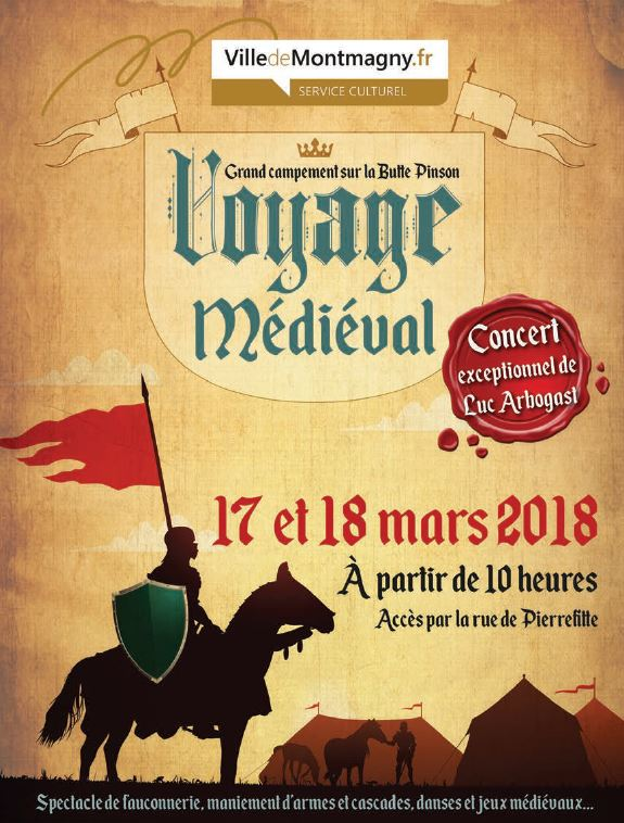 Voyage médiéval à Montmagny