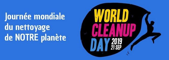 World Clean up Day 21 septembre 2019