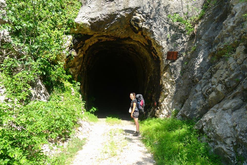 Bosnie- Tunnel peuplé de chauves-souris