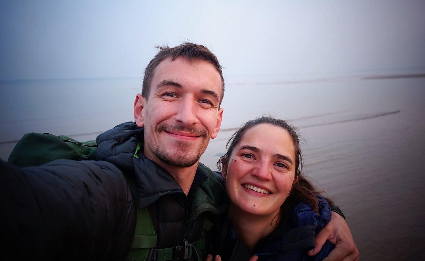 Amélie et Vincent arrivés en Chine