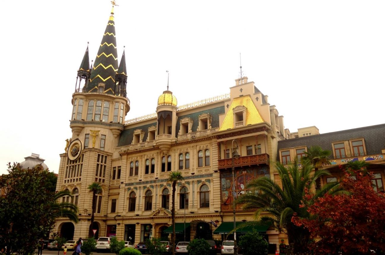 Géorgie - Palce de l'Europe à Batumi