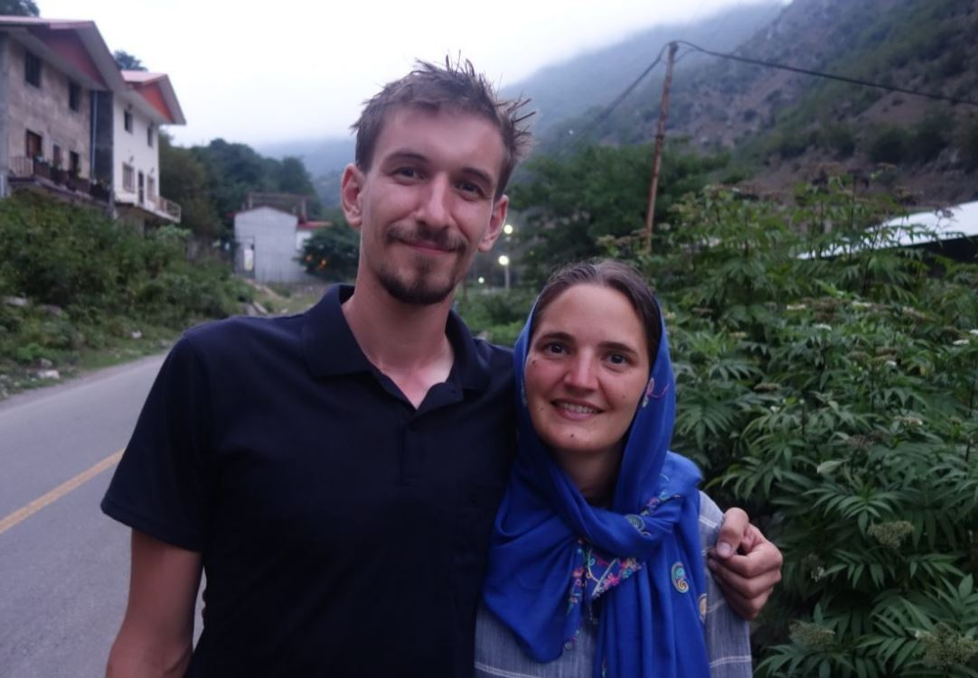 Amélie et Vincent en Iran