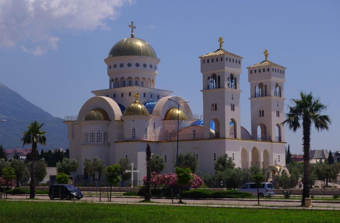 Montenegro - Temple orthodoxe flambant neuf! Bar