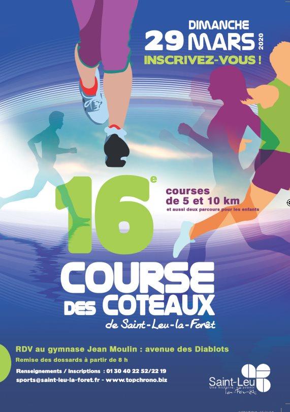 Course des coteaux à Saint-Leu-la-Forêt - 2020