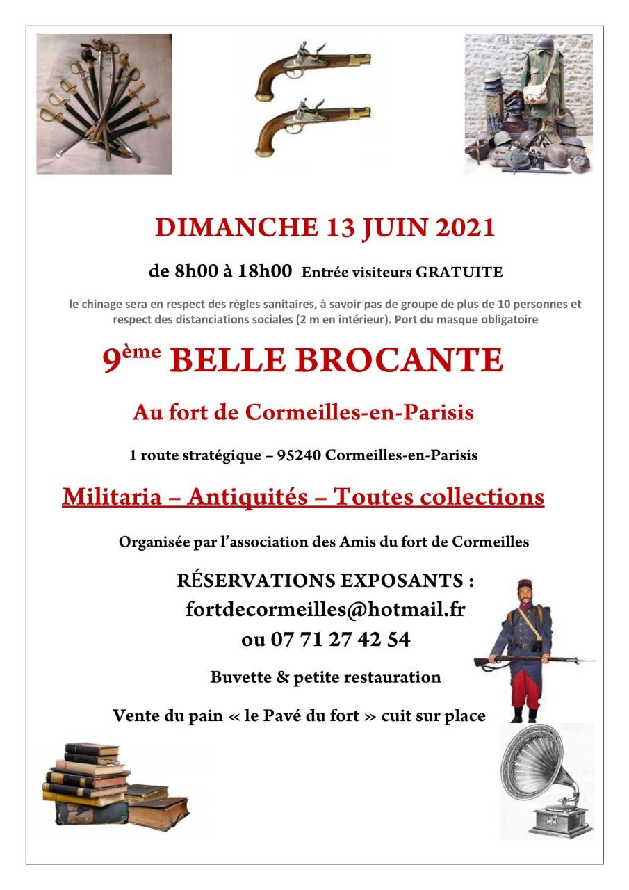 Brocante du Fort de Cormeilles-en-Parisis - 2021