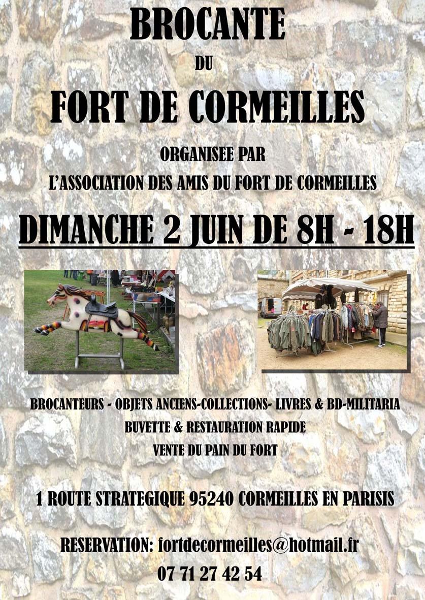 Brocante de Fort de Cormeilles-en-Parisis 2 juin 2019