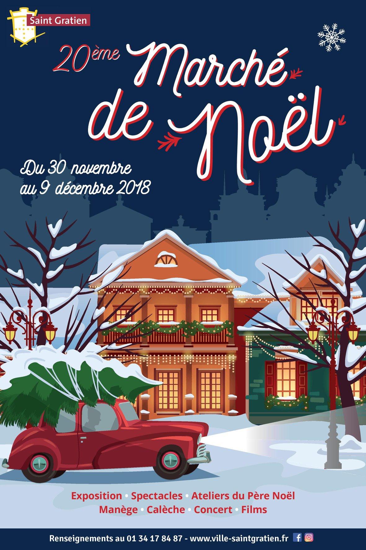 Marché de Noël de Saint-Gratien - 2018