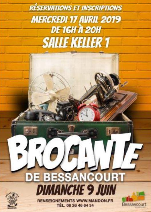 Brocante à Bessancourt le 9 juin 2019