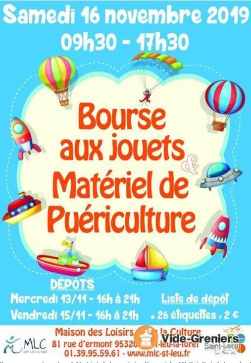 Bourse aux jouets Saint-Leu-la-Forêt