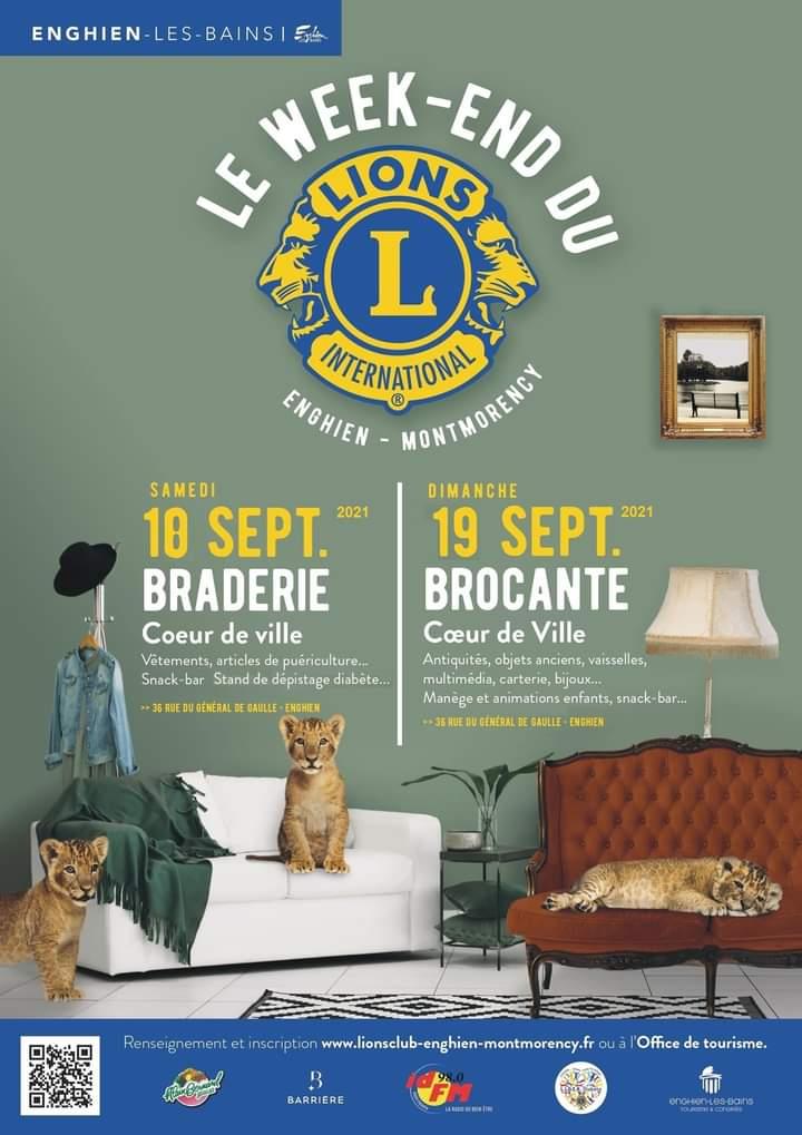Braderie Brocante à Enghien - septembre 2021