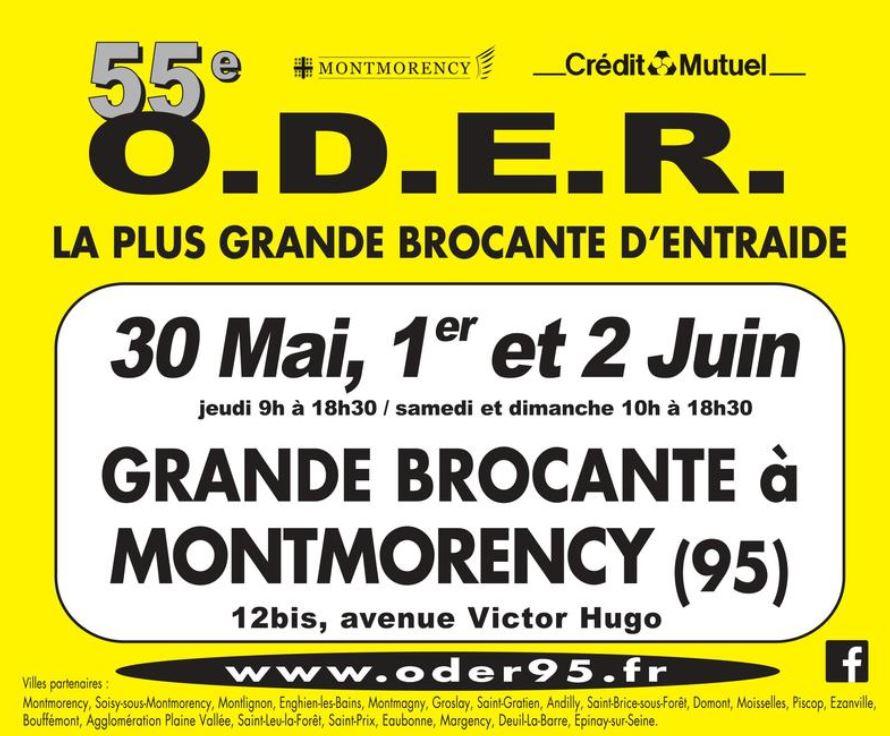 55e édition de la brocante O.D.E.R 2019
