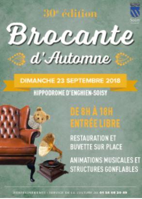30e brocante d'automne - Hippodrome d'Enghien Soisy