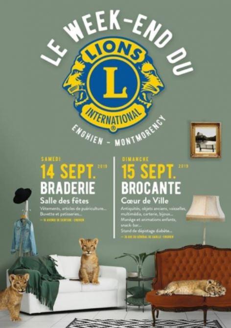 Enghien Lions Club 14 et 15 septembre 2019