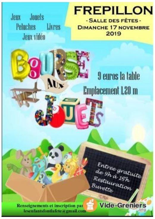 Bourse aux jouets à Frépillon