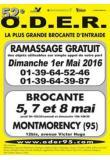 <span style=color: #ff6600;><strong>O.D.E.R.</strong></span> &agrave; Montmorency : nouvelle &eacute;dition de la <span style=color: #ff6600;><strong>plus grande brocante</strong></span> d'entraide d'Ile-de-France !