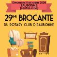 29ème Brocante du Rotary Club d'Eaubonne ANNULEE