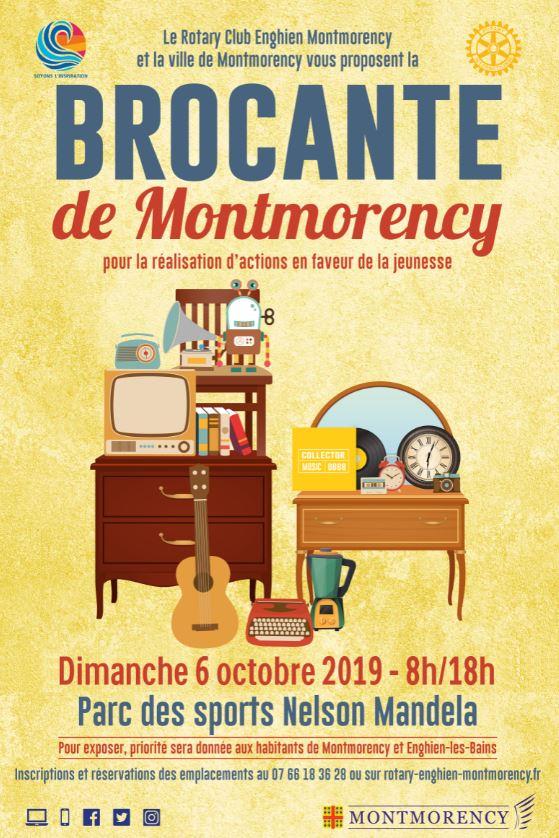 Brocante à Montmorency le 6 octobre 2019