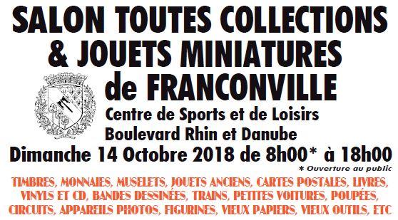 Salon toutes collections Franconville 14 octobre 2018