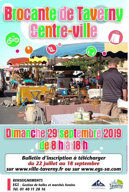 Brocante Taverny - 29 septembre 2019