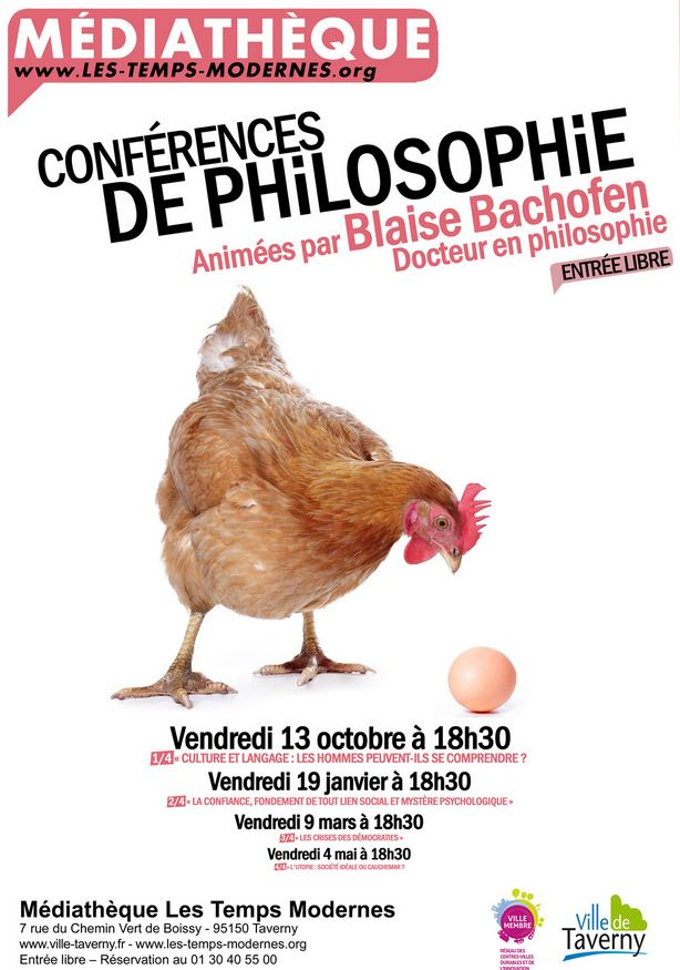CONFERENCE PHILO A TAVERNY