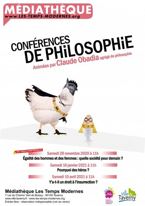 Visio conférence de philosophie - Taverny