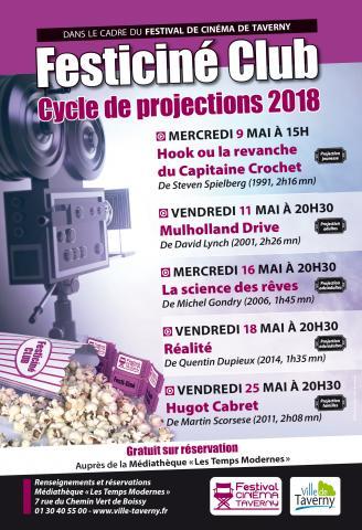 FESTICINE CLUB de TAVERNY 2018