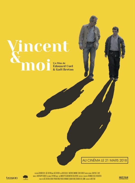 film VINCENT ET MOI de Gaêl Breton et Edouard Cuel