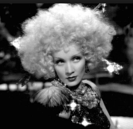 Marlène Dietrich dans