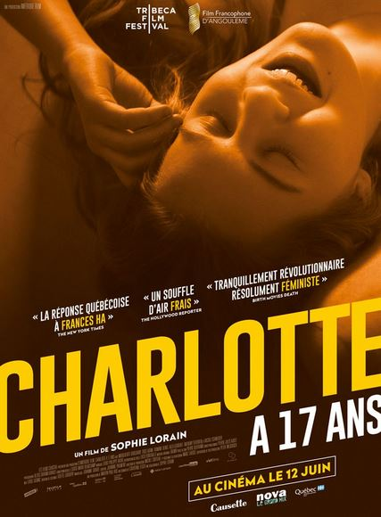 CHARLOTTE A 17 ANS de Sophie Lorain