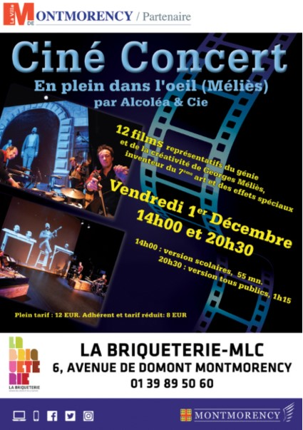 Ciné concert à Montmorency