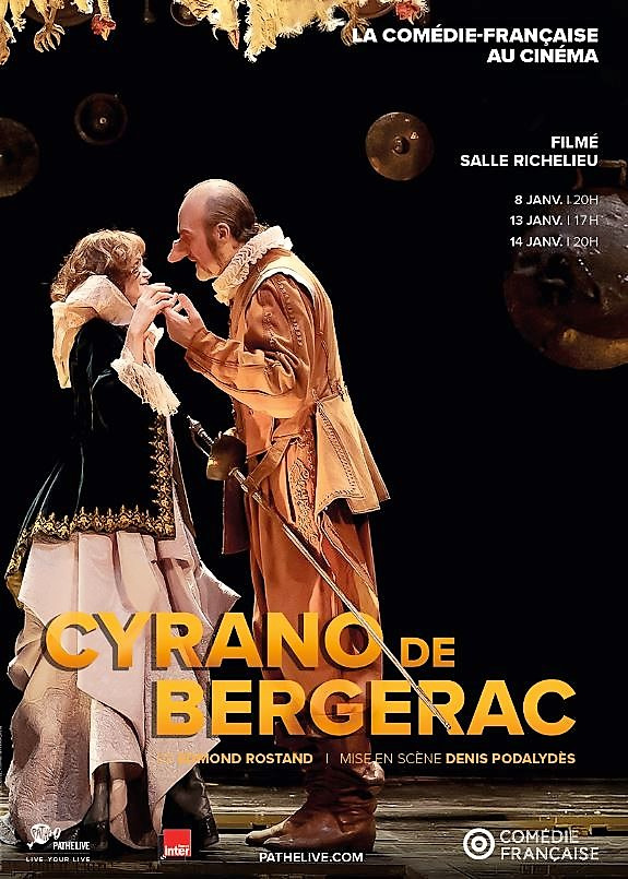 CYRANO DE BERGERAC - tHEATRE AU CINEMA