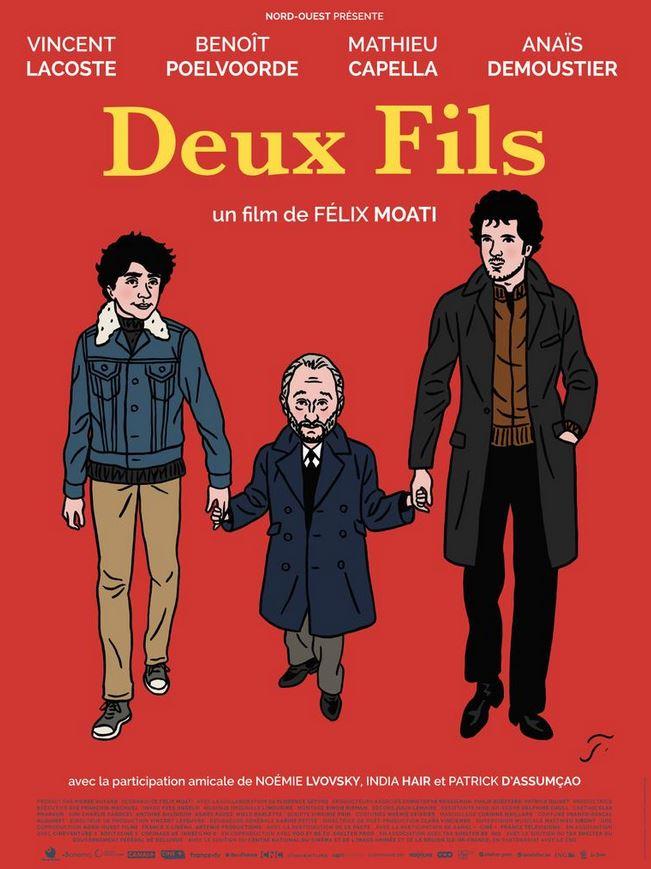 DEUX FILS de Félix Moati