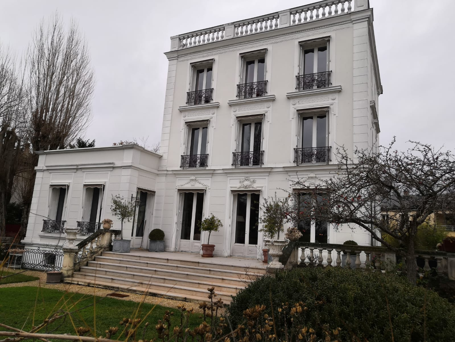 Hotel particulier à Saint-Gratien (décor du