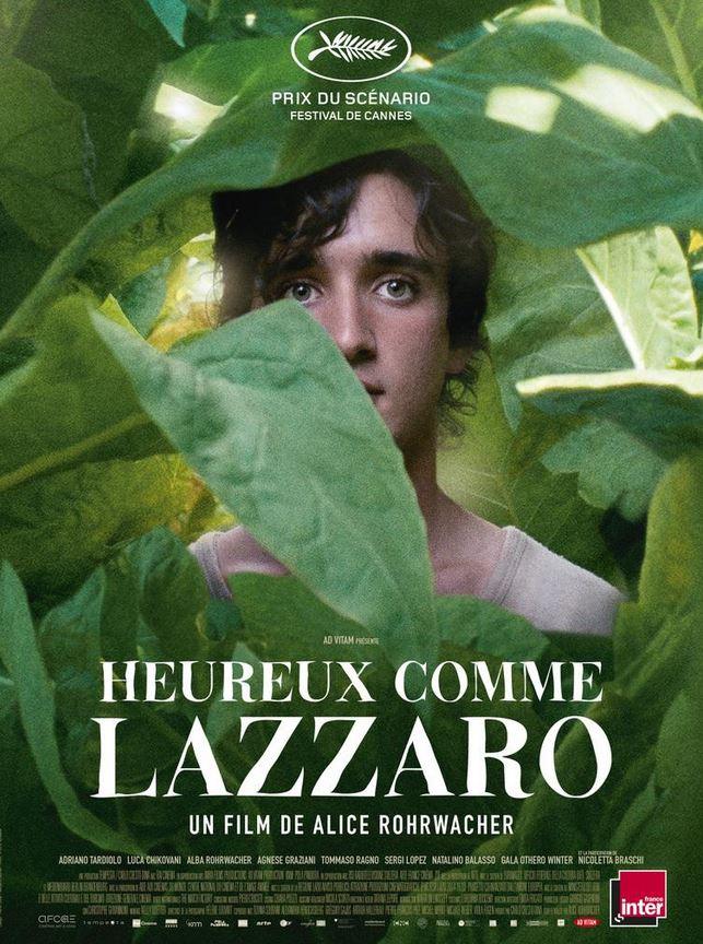 HEUREUX COMME LAZZARO de Alice Rohrwacher