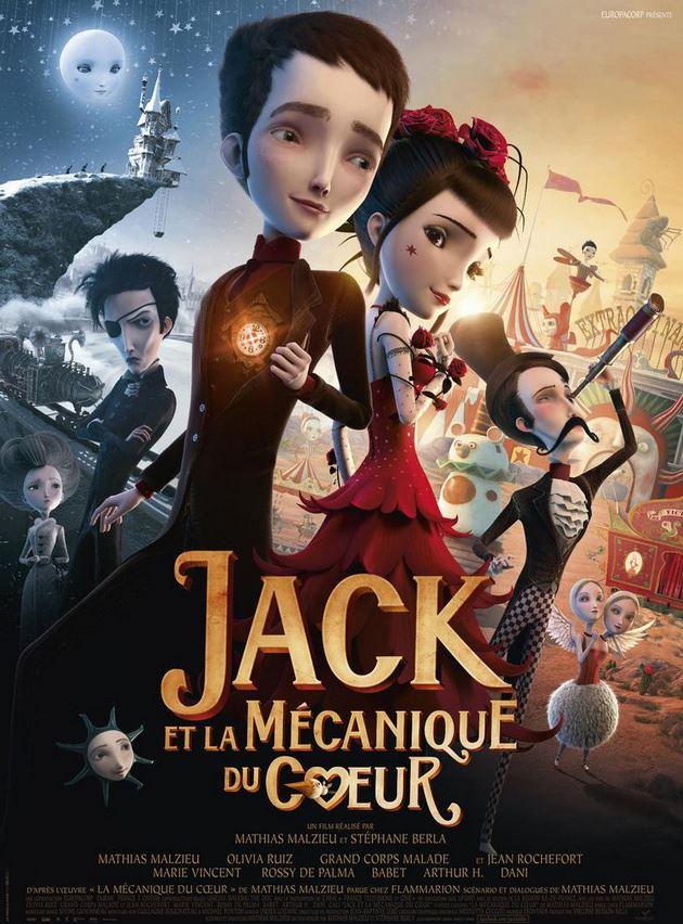 film JACK ET LA MECANIQUE DU COEUR