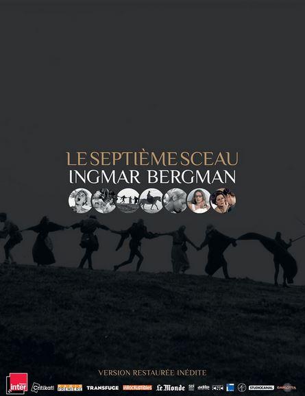 FILM Le septième sceau d'Ingmar Bergman
