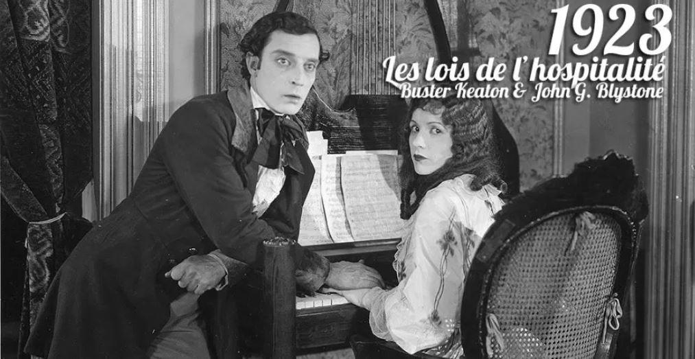 LES LOIS DE L'HOSPITALITE de Buster Keaton