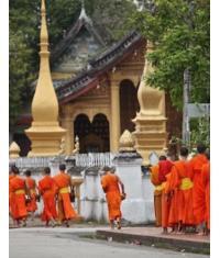AEaubonne, Patrick Moreau nous fait découvrir le Laos, pays qui séduit de plus en plus de voyageurs.