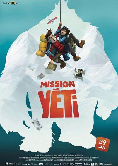 Film : Mission Yéti